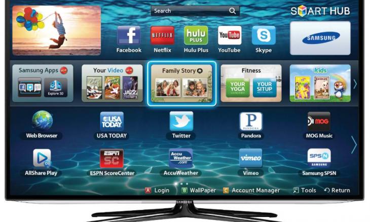 Как подключить, настроить Интернет на телевизоре.